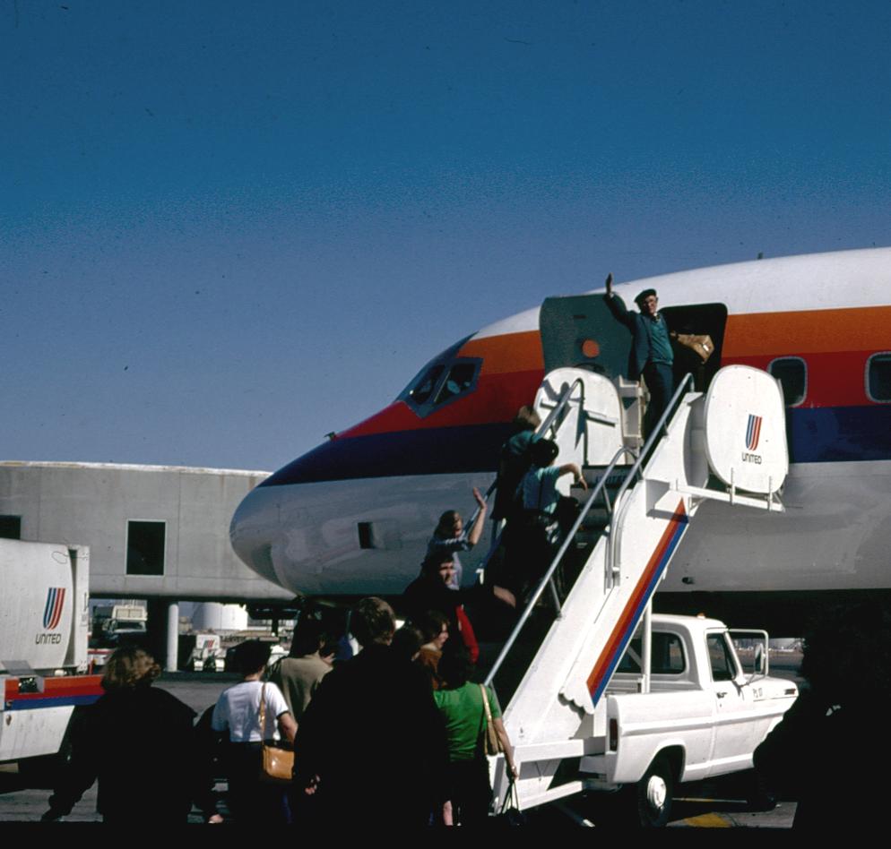 voyage maupas usa avion